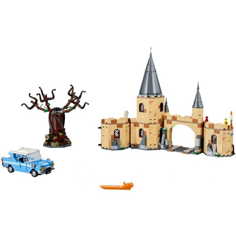 2018-New-Lepin-16054-843pcs-Building-Blocks-Bricks-Hogwarts-Whomping-Willow-Compatible-Legoing-75953-Educational-Toys (4)