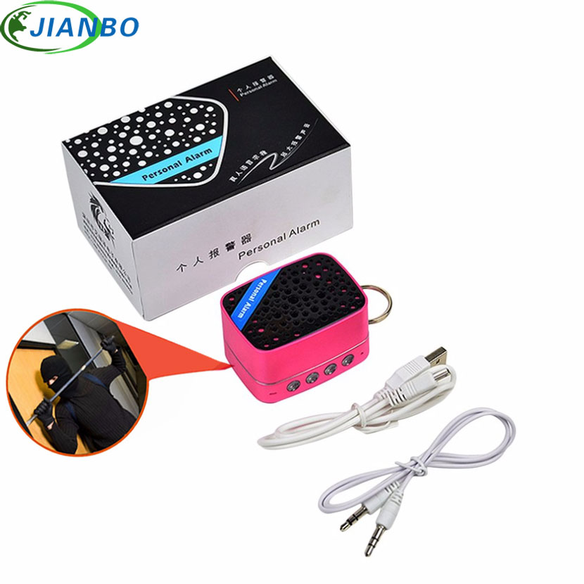 Personal Alarm Safe Sound Emergency Self-Defense Supplies Security Alarm Keychain Flashlight For Women Girl Kid Elderly Explorer