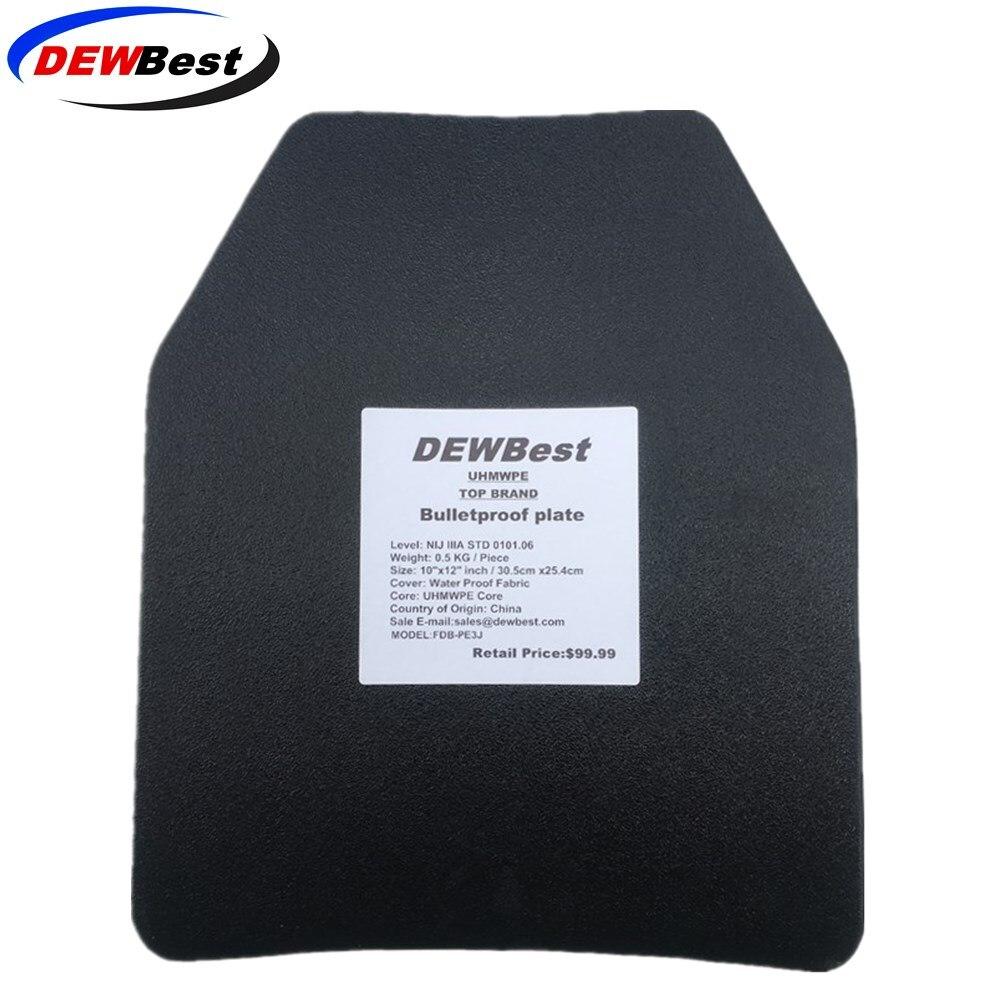 Dewbest Plates Alone Nij-Level IIIA Body-Armor 3a-Stand Ballistic-Panel/level