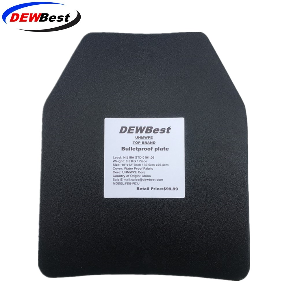 DEWBest NIJ Level IIIA Bulletproof Panel/Level 3A Stand Alone Ballistic Panel/Level 3A Body Armor Plates