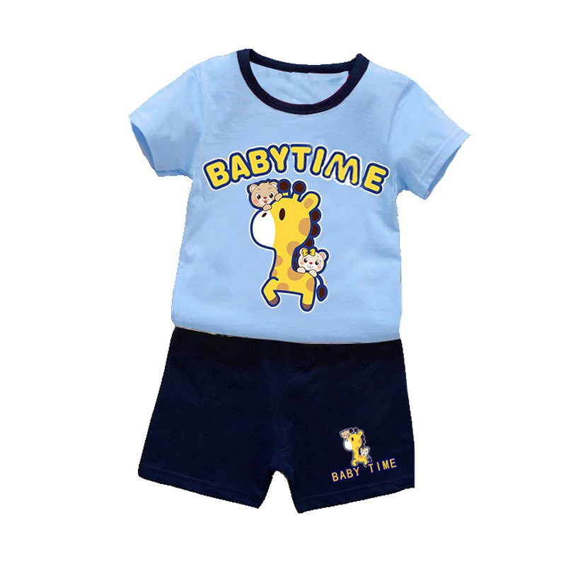 Baby Boy Clothes Summer Brand Baby Clothing Deer Short Sleeve T