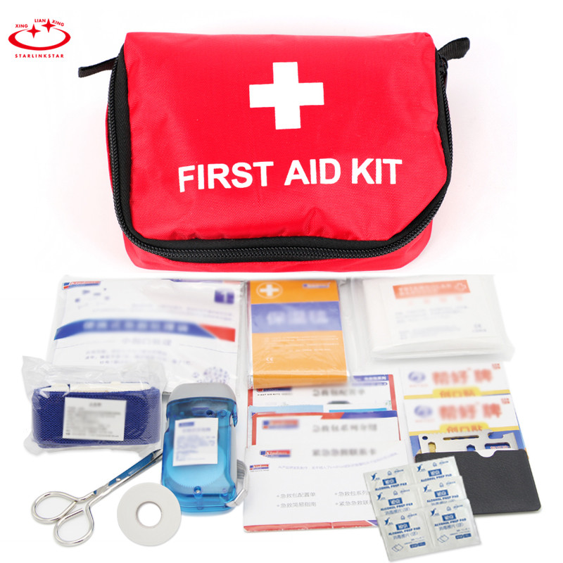 Storage Boxes & Bins Industrious 1pc Wonderful Portable Empty First Aid Bag Kit Pouch Medical Emergency Travel Rescue Case Bag Medical Package Travel Bag