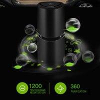Car Air Purifier Auto Air Purifier Portable Air Purifier Oxygen Bar Desktop Ionic Cleaner USB Universal Air Freshener