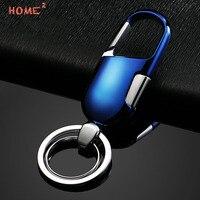 High End Car Metal Men Keyring Auto Upscale Keychain Key Ring For Mazda Subaru BMW Renault