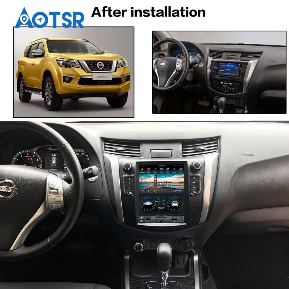 Clearance Android Tesla style Car GPS Navigation no DVD Player For NISSAN NP300 Navara 2014+ multimedia tape radio recorder head unit FM 0