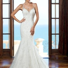 kejiadian Train Wedding Dress Open Back Bride Dresses