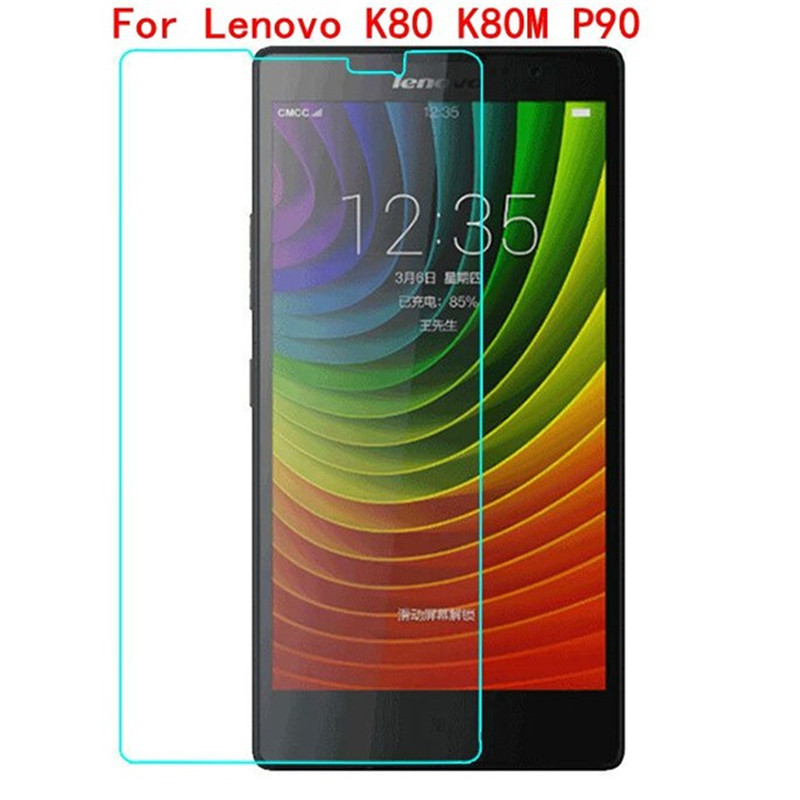 2PCS Lenovo P90 Tempered Glass Original 2.5D 9H Screen Protector Protective Film On P 90 K80 M K80m K 80M Dual Sim Lte Glass ^