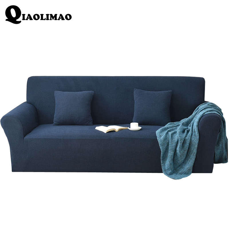 Brilliant Us 41 59 48 Off 2018 Solid Color Stretch Sofa Cover Elastic Seat Couch Cover Loveseat Sofa Funiture Covers Furniture Copridivano Home Decoration In Gmtry Best Dining Table And Chair Ideas Images Gmtryco