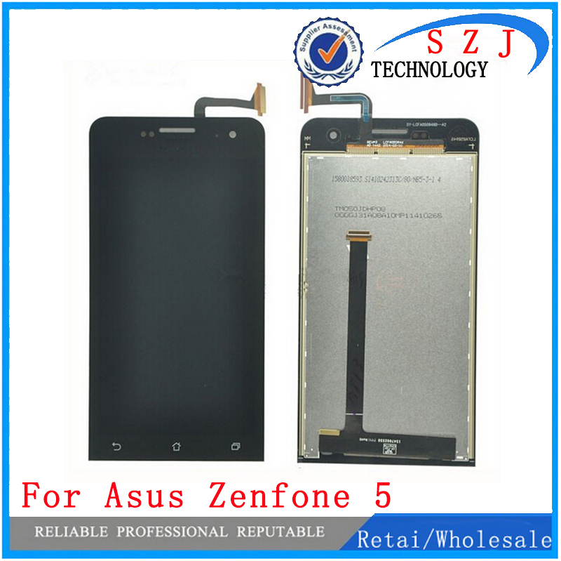 New 5'' inch LCD Display + Touch Screen Digitizer Assembly Replacements FOR Asus ZenFone 5 A500CG A500KL A501CG Free shipping 2013 new for iphone 5 lcd with touch screen digitizer assembly free shipping lowest price dhl