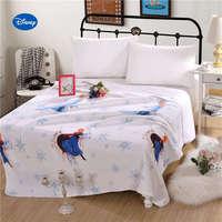 שמיכות קיץ נסיכת דיסני קפוא אלזה ואנה שמיכות מיטת חדר השינה של ילדי סטי בנות מצעים מלכה מלאה תאומה אחת