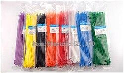 Self locking nylon cable tie plastic band tie band 3*250mm band color nylon tie