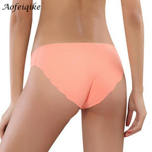 Special Offer New seamless Top DuPont Fabric Ultra-thin Comfort No trace Women Underwear Panties Briefs Hot sale