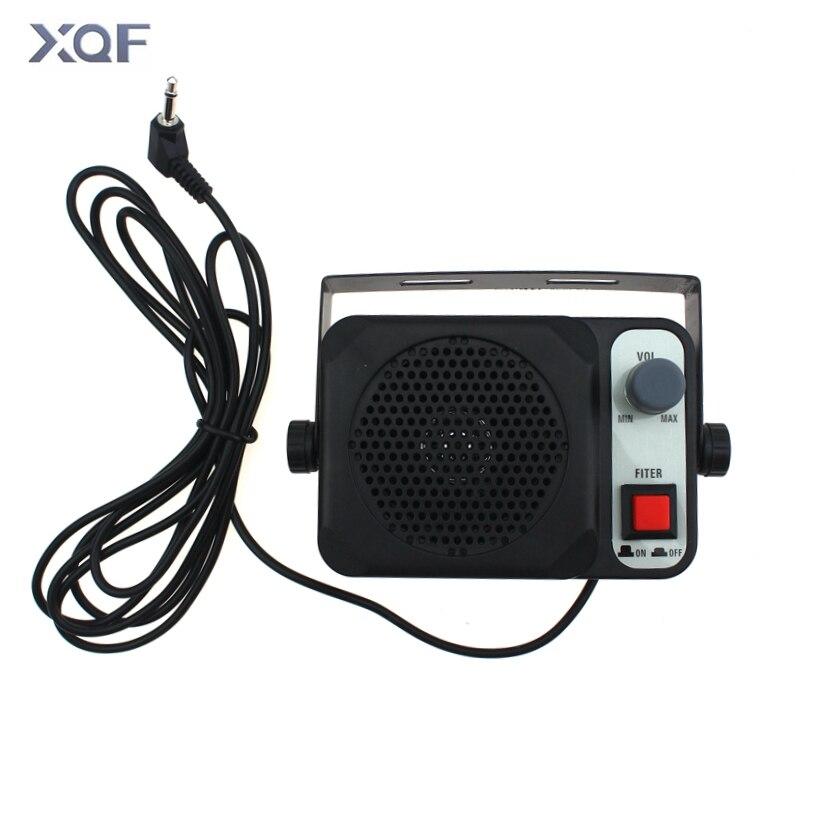 TS-650 Loudspeaker 3.5mm Jack Heavy Duty External Speaker For Yaesu Kenwood Icom CB Radio VHF Radio