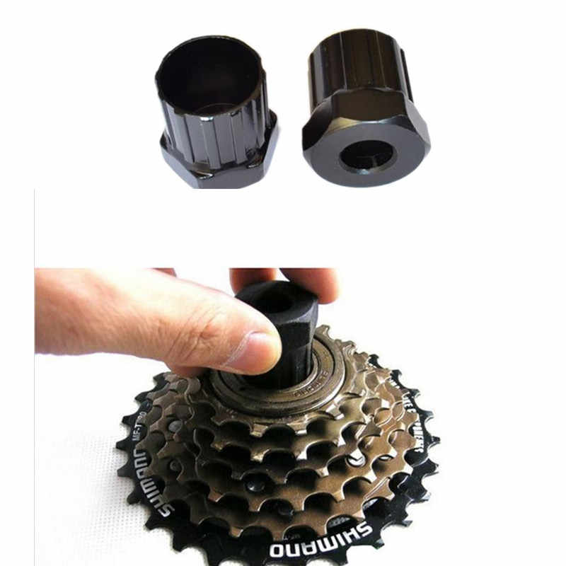 Fiets Cassette Vliegwiel Freewheel Lockring Remover Removal Repair Tool 12 Tanden Duurzaam Carbon Stalen Sleutel