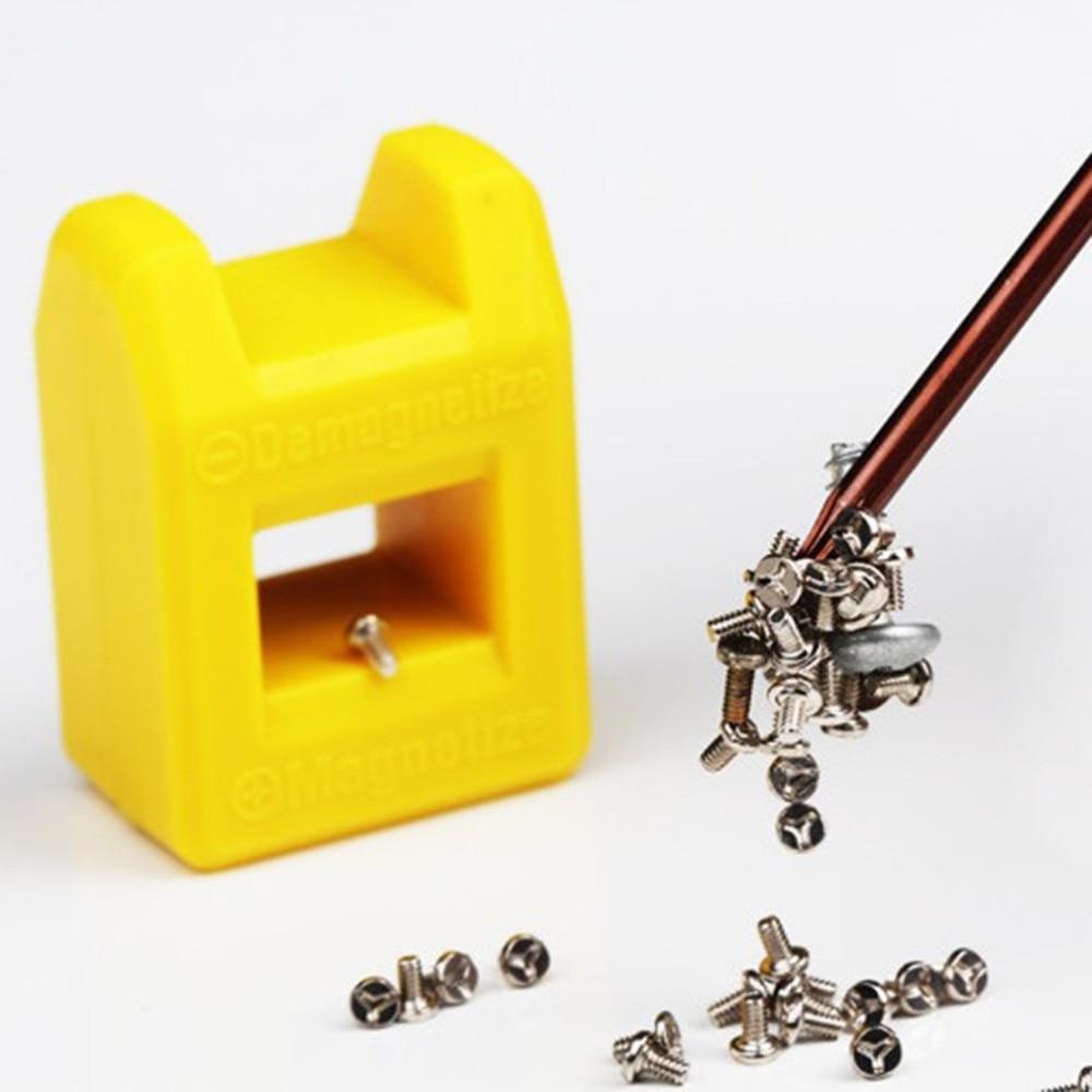 1PC Quick Magnetizer Demagnetizer Mini Magnetic Pick Up Tool For Screwdriver Tips Screw Bit Magnetic Repair Tool