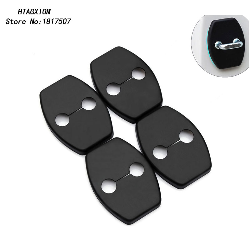 for Toyota Corolla Door Lock Buckle Cover Special Modified Lock Cover Car Styling Stickers Auto Accessories 4 Pcs
