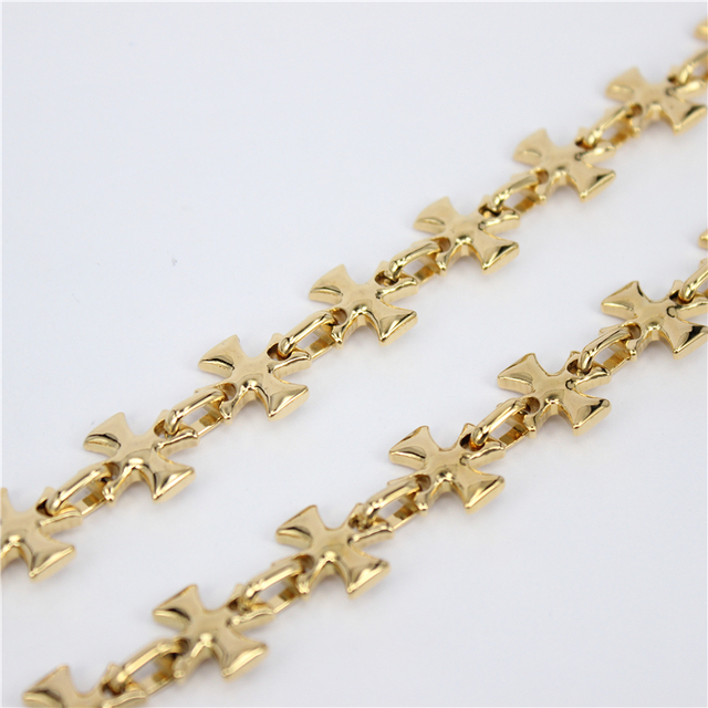 Wholesale Trendy Gold Plated Chain Necklaces Men Gift  Gold Plated  Chunky Necklaces & Pendants Men Jewelry HY119