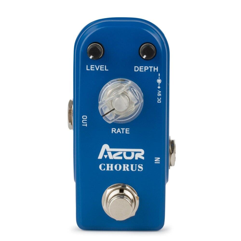 AP-309 Chorus Mini Guitar Effect Pedal with Ture Bypass aroma adr 3 dumbler amp simulator guitar effect pedal mini single pedals with true bypass aluminium alloy guitar accessories