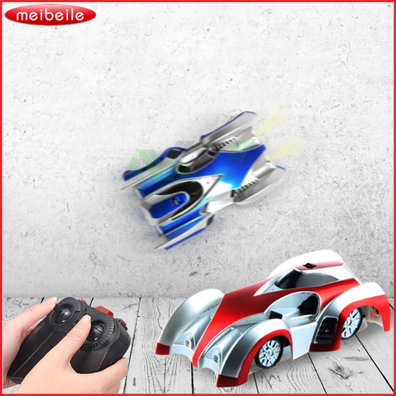 Remote Control Toy Car Wall Climber Juguetes Glass Climbing RC Car With Light Electric Toys For Children In Random Color