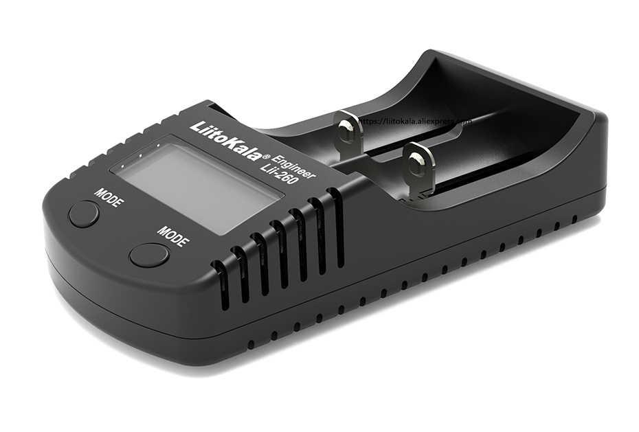 Умное устройство для зарядки никель-металлогидридных аккумуляторов от компании Liitokala Lii-260 18650 Зарядное устройство lii260 для 3,7 V 18650 26650 10440 14500 16340 17500 Перезаряжаемые Батарея
