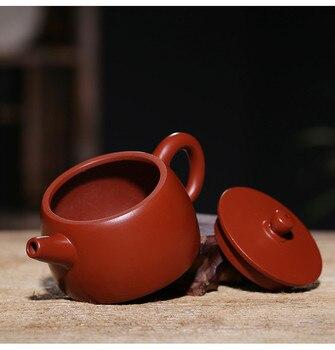 чайный сервиз гонфу   Китайские фарфоровые чайники Yixing чайник Gongfu Чайный набор Zisha чайник 110 мл Новое поступление высокое качество с подарочной коробкой безопасн...