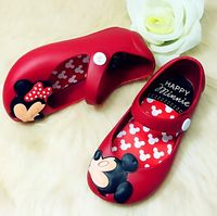 2016 Kids Shoes Girls New Baby Rubber Mini Melissa Cute Bow Girls Sandals Children Stereo Pattern
