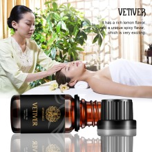 Vetiver essential oil 10ml natural Essential Oils skin Calm Wound healing control balance antibiosis