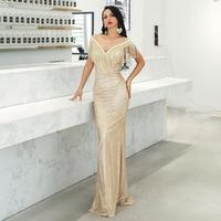 Elegant Women Dress Fashion Night Club Celebrity Evening Party Dresses Spring Summer Sexy Bodycon Long