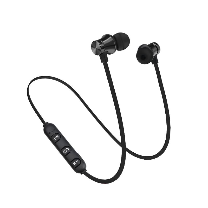 10pcs/lot Bluetooth Earphone XT 11 Bass Stereo Headset Sport Running In-ear Sweatproof Headphone Magnetic Wireless with Micphone