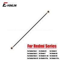 Señal Wifi antena Wi-Fi cinta conector de Cable Flex Cable para XiaoMi Redmi Nota 7 6 6A 5 5A 4X 4A 4 3 S2 Pro Plus mundial