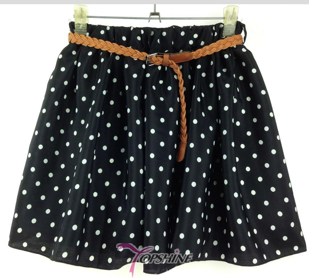25 styles new 2014 Ladies Elastic Waist women skirt Prints Flower ...