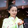 Angelababy luz verde Hanfu estética historia de amor of the Desert - Yun Zhong Ge Angelababy mujeres de Hanfu traje