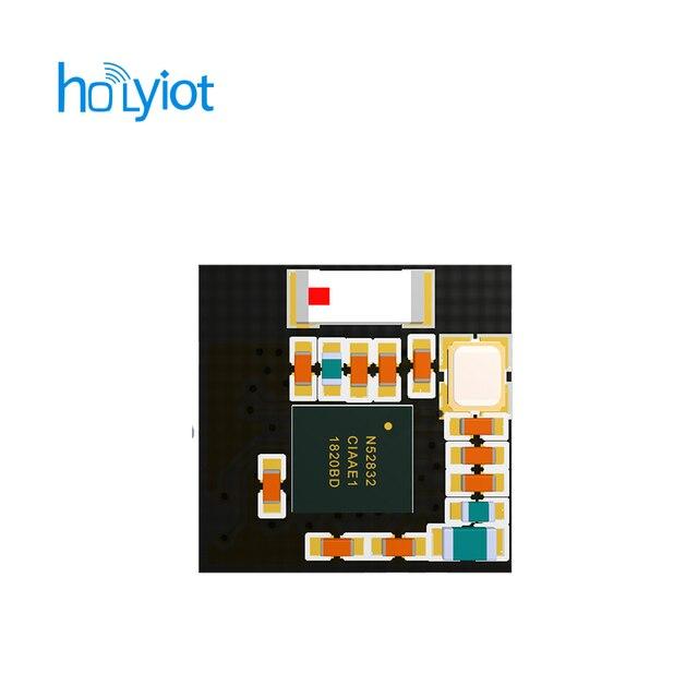 Groothandel Holyiot TinyBLE nRF52832 Bluetooth lage energie module BLE 5.0 voor Bluetooth mesh