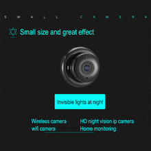 1080P Mini Camera Wifi Wireless IP Camcorder Motion Detect Alarm For Home Security Night Vision Camera Looping Record Camera dvr