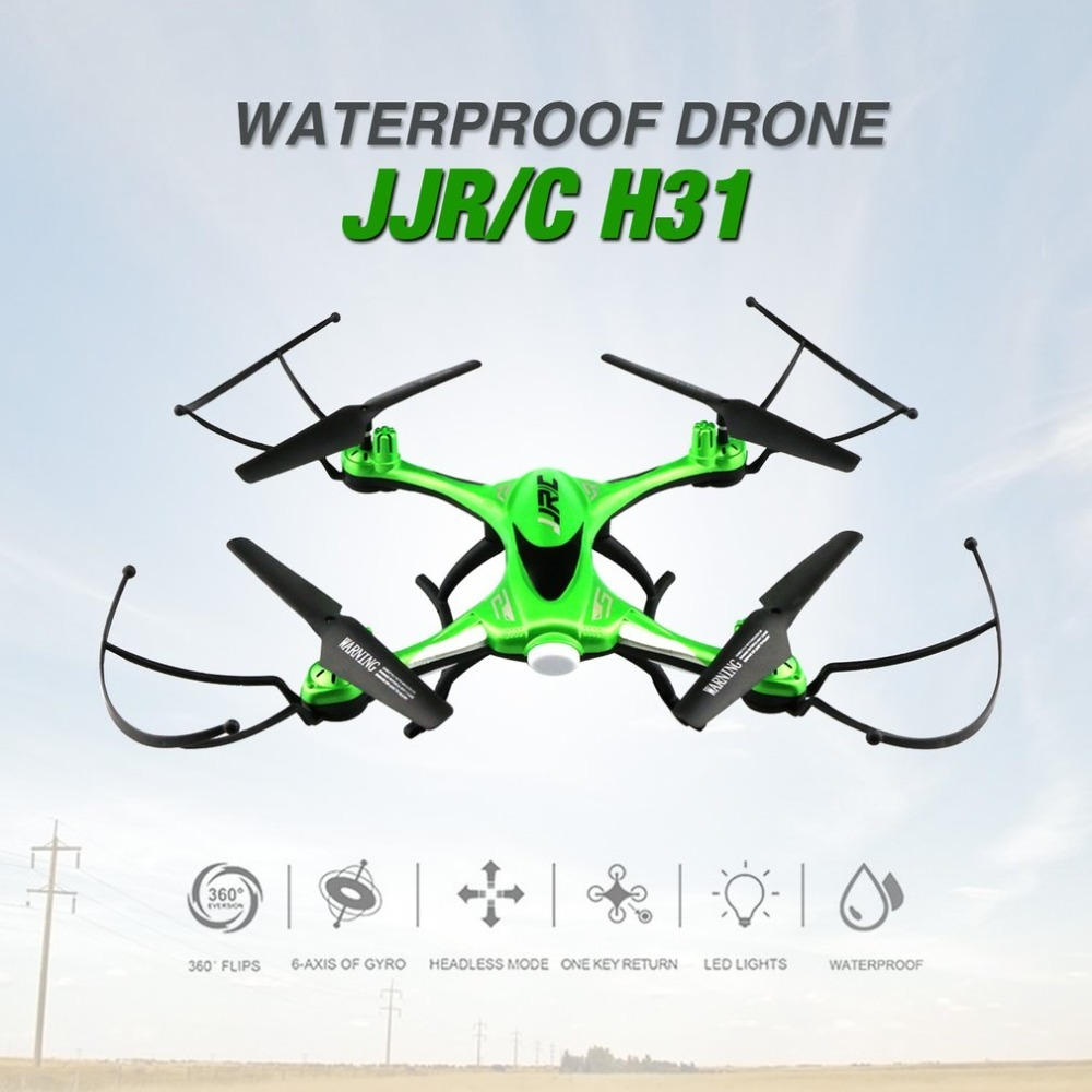 JJR/C H31 2.4GHz 4CH 6-Axis Gyro RC Quadcopter Waterproof RTF Mini Drone with CF Headless Mode/One-Key Return/3D Flip & Roll aviax h2o waterproof drone headless mode 2 4ghz 6axis gyro quadcopter rc explorers led flashing lights support diy rtf