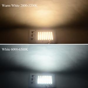 Image 2 - החכם IC LED מנורת AC 220 V 90 W 50 W 30 W 20 W 10 W גבוהה הלום SMD 5730 צ יפ COB עם נהג LED מקרנים חיצוני אור הזרקורים רחוב