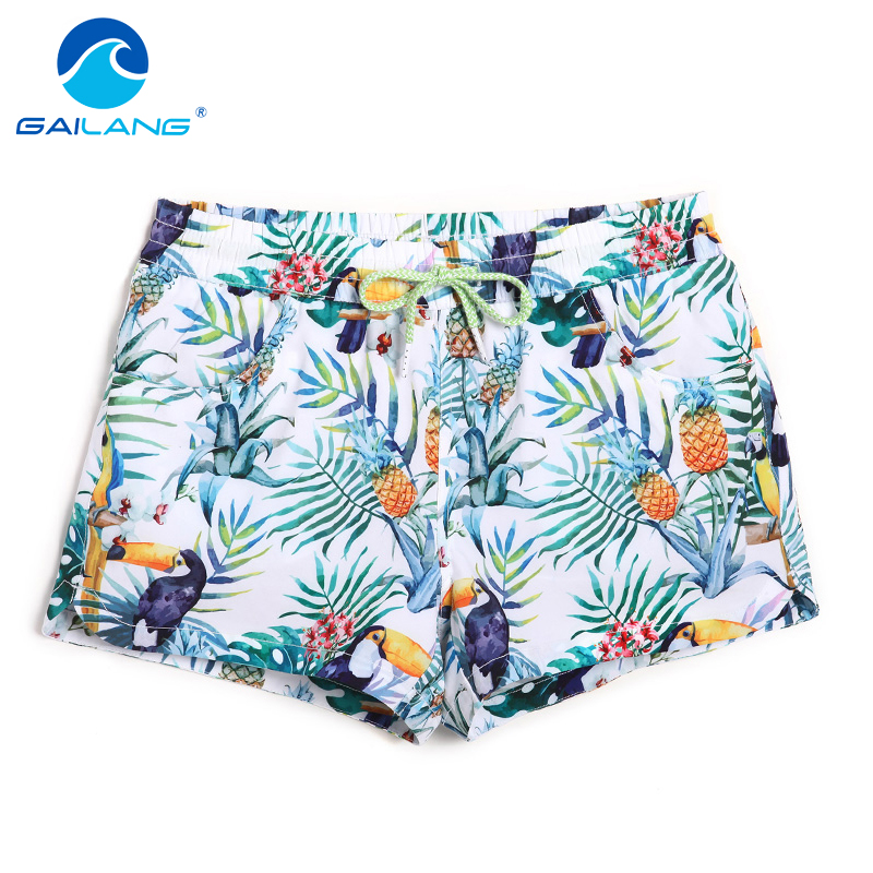 Gailang značky Dámské šortky Rada Boxerské treníry Šortky Žena Plavky Plavky Boardshorts Casual Quick Drying Shorts Gay