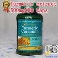 90 caps/lot 500 mg cápsula de extrato de cúrcuma curcumina Extrato de Curcumina Cápsulas para Proteger O Fígado