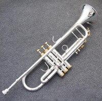 Kolns новые оригинальные americano Топ труба золото и серебро позолоченное серебро ab 190sbach небольших музыкальных инструментов Профессиональный