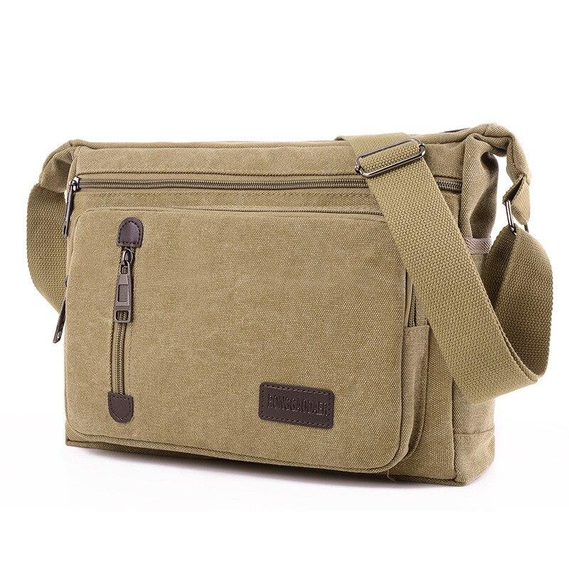 251b31faf6c6 ZHIERNA Male and Female handbag Messenger Bag Waterproof Universal Retro  Classical Portable Multi-function Durable