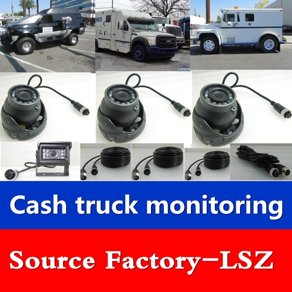 LSZ caisse transport voiture 7 pouces quatre voies SD carte enregistreur MDVR bus/camion/moissonneuse/bus voiture surveillance ensembleLSZ caisse transport voiture 7 pouces quatre voies SD carte enregistreur MDVR bus/camion/moissonneuse/bus voiture surveillance ensemble