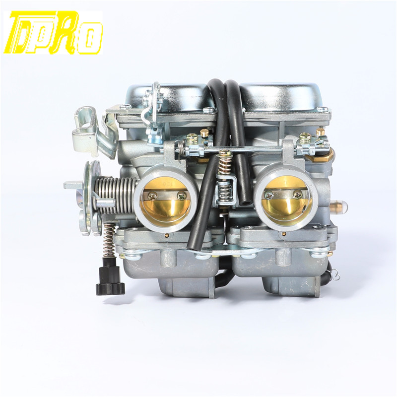 PD26JS Carburetor For 250cc Chinese Regal Raptor Motorcycle Twin Cylinder engine motorcycle cylinder kit 250cc engine for yamaha majesty yp250 yp 250 170mm vog 257 260 eco power aeolus gsmoon xy260t atv