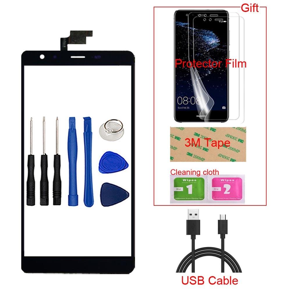 6 0 TouchGlass Mobile Phone For Leagoo Shark 1 Touch Screen Glass Digitizer Panel Lens Sensor