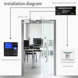 Image 3 - Intercomunicador BX6 BX10 con Control de acceso y huella dactilar, sistema de código RFID eléctrico Digital para etiquetas de cerradura de puerta