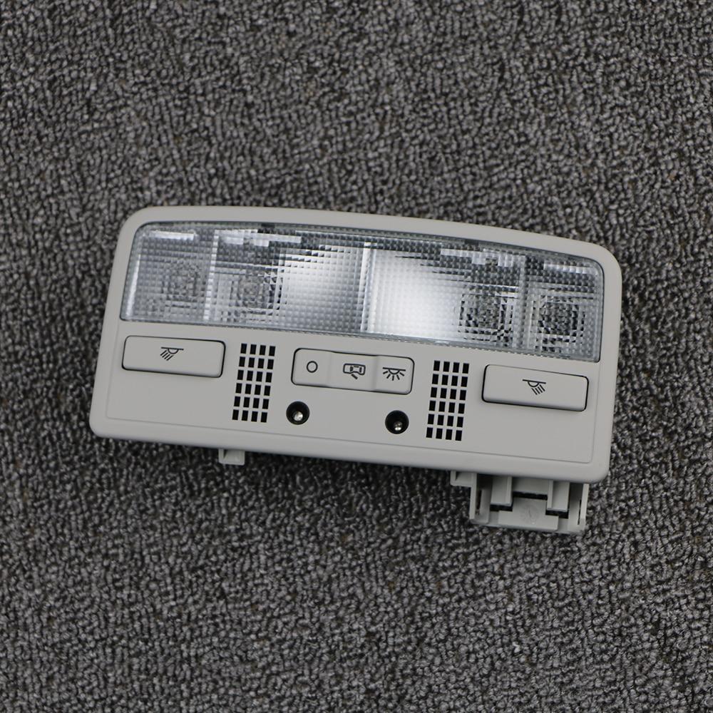 3BD947105 Gray Car Interior Reading Light Dome Lamp Light Switch Red Light For VW Passat B5 1.8T 2.0L For Skoda Octavia