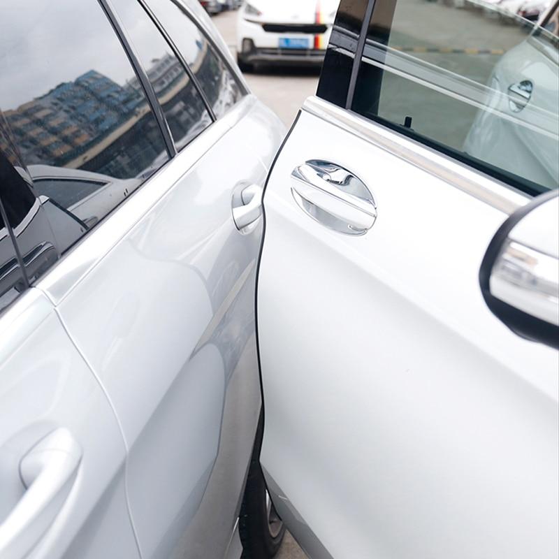 >Car Edge Guard Cover Crash Door Scratch Protector For Ford <font><b>Focus</b></font> <font><b>2</b></font> <font><b>1</b></font> Fiesta Mondeo 4 Transit Fusion Kuga Ranger Mustang KA S-max