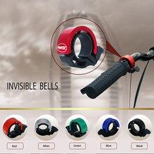 TAVTA Запатентованный продукт Невидимый велосипед колокола ЧПУ Алюминиевого Сплава Металла Окружающей велосипед колокол