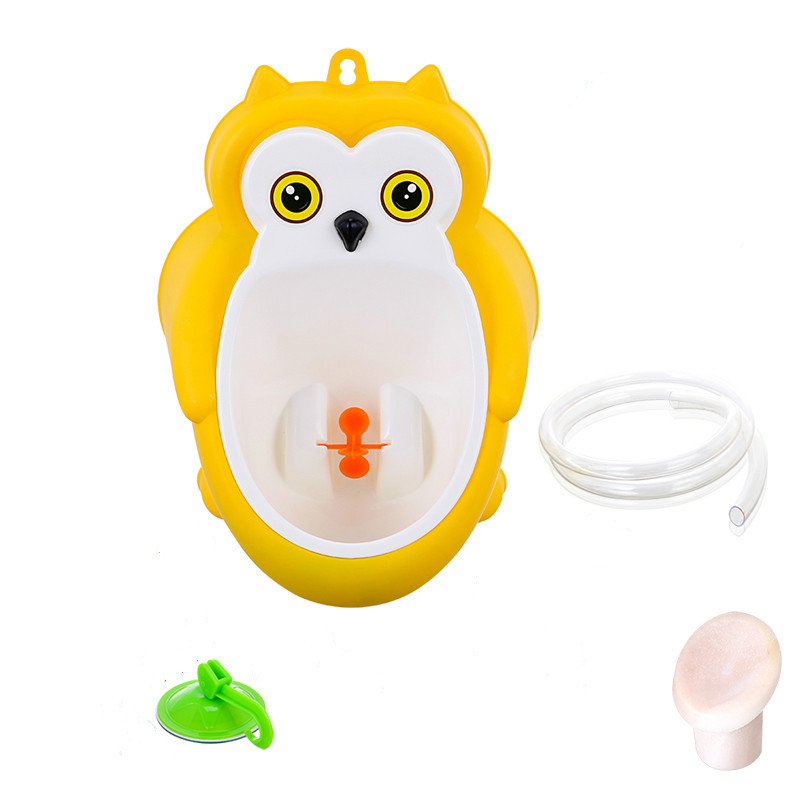 Baby boy Urinal Pee Frog and Owl baby toilet training Colored Children Potty Baby Urine Groove PP hooked Urinal for kids (16)