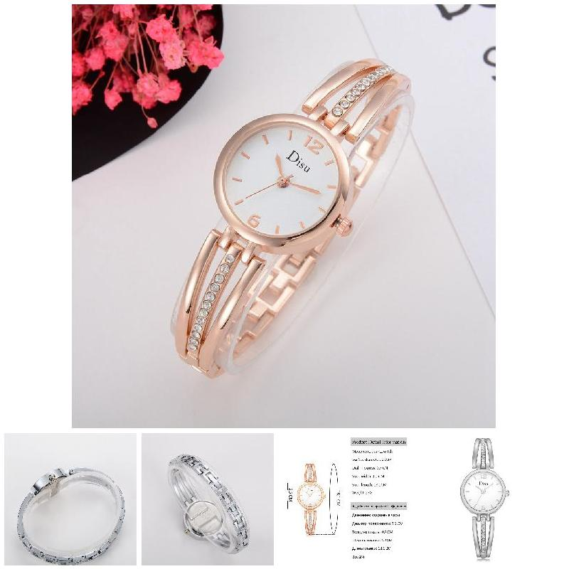 Fashion Women Rhinestone Bracelet Watches Alloy Strap Wristwatch Circular Dial Clock Ladies Girls Casual Quartz Watch LL 5pcs lot 6704zz 6704 zz 20x27x4mm thin wall deep groove ball bearing mini ball bearing miniature bearing
