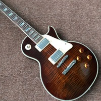 NEW Custom Shop 1959 R9 Tiger Flame Les Electric Guitar Standard LP 59 Paul Guitar Real